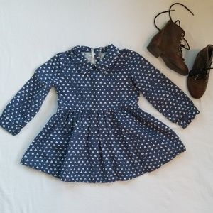 Collared Dress by Yadou Childrenswear